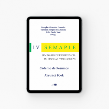IV SEMAPLE | Caderno de Resumos | Abstract Book - Abresc |